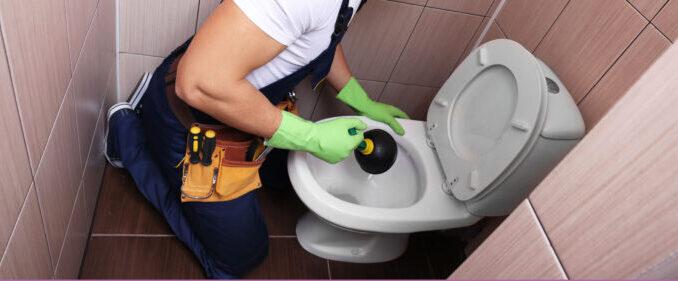 déboucher toilettes