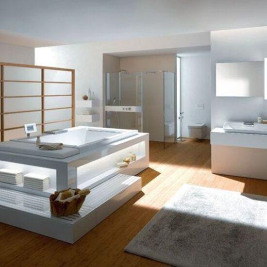 salle de bain high tech luxe