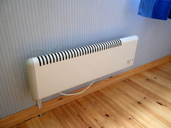 White_electric_radiator