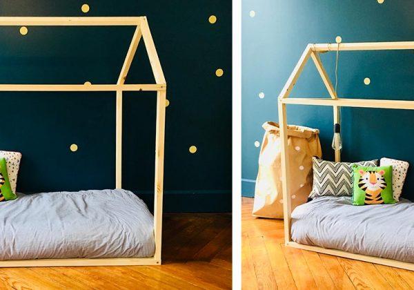 Comment fabriquer un lit cabane pour bébé
