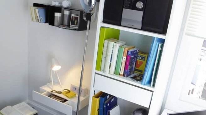 Les bibliothèques adaptées au petit espace