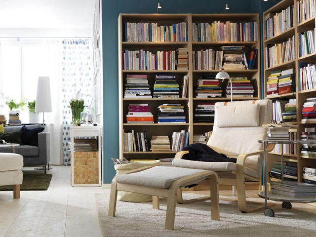 Mettre une bibliothèque dans une pièce dédiée