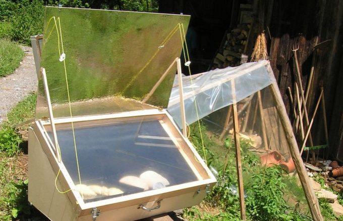 Construire un four solaire solide