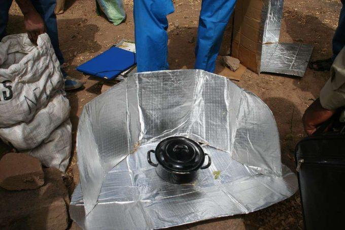 Réaliser un four solaire léger