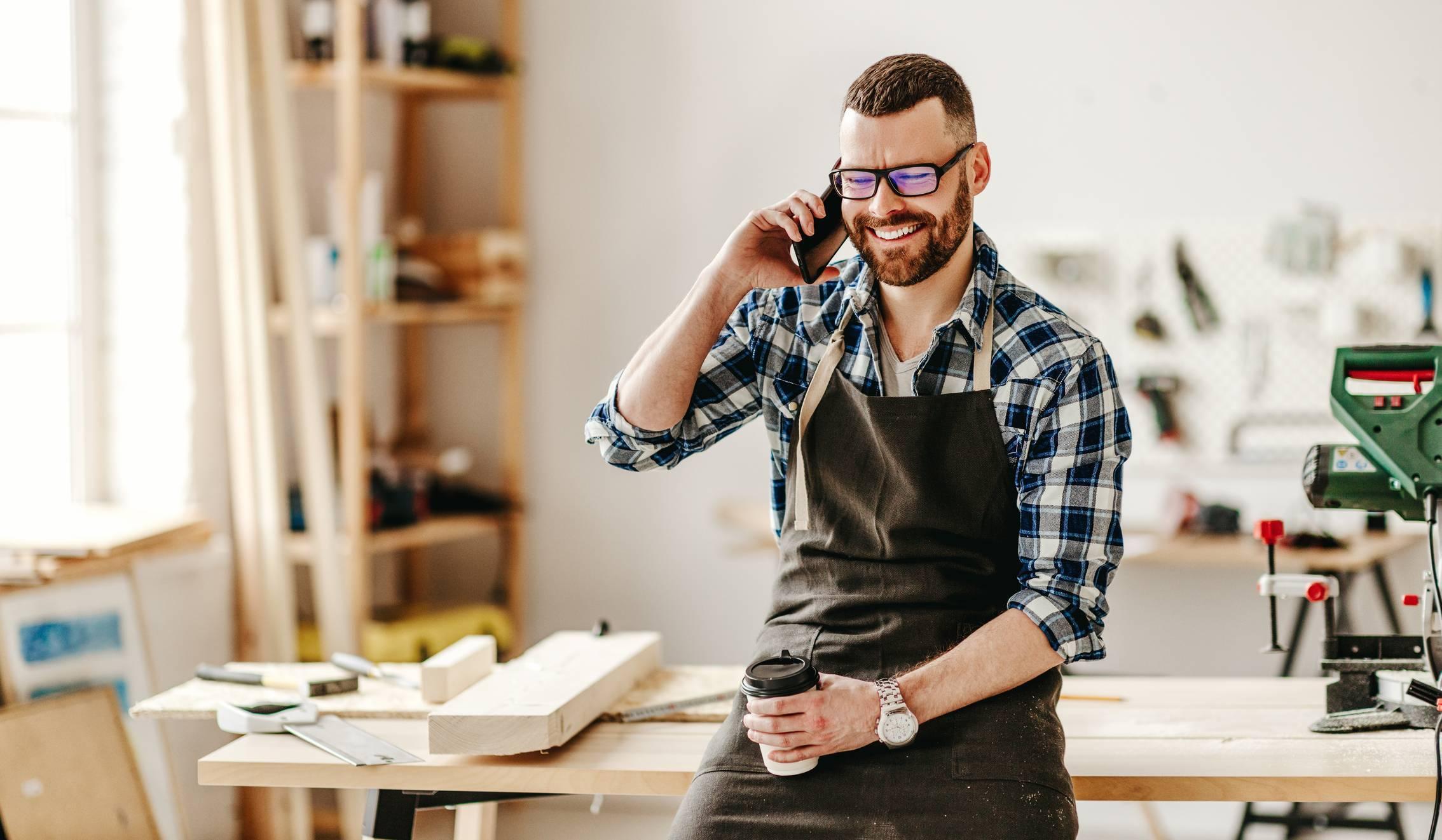 établi d'atelier professionnel pour artisan ébéniste