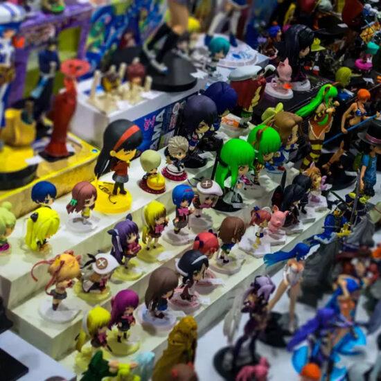 étagère figurine