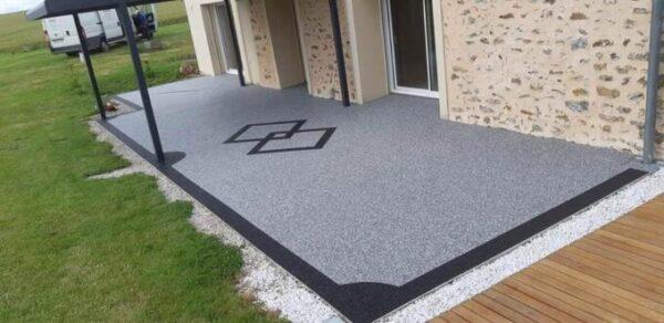 terrasse granulat marbre