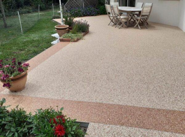 moquette de pierre terrasse tapis de pierre