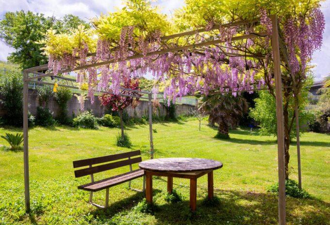Tonnelle de jardin